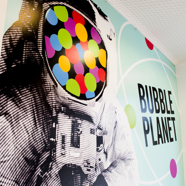bubble tea w Bubble Planet
