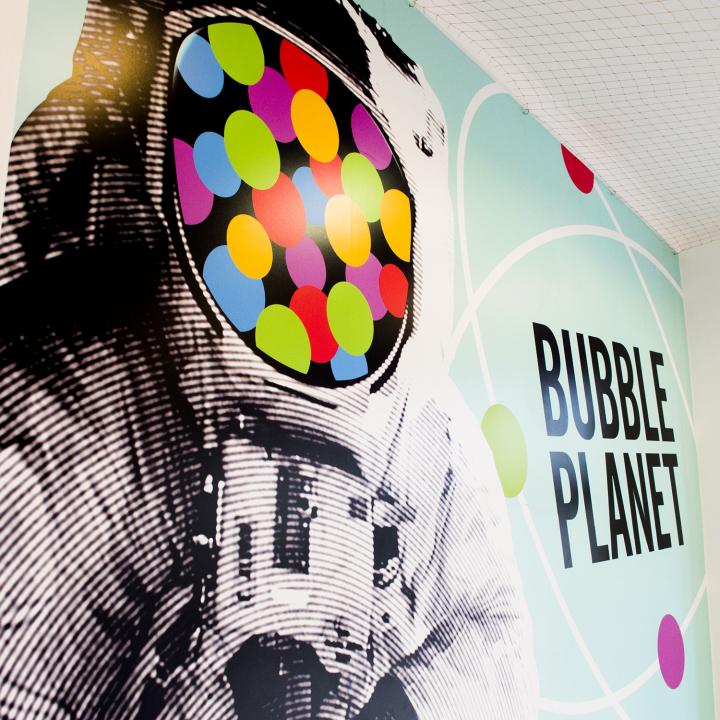 bubble tea w Bubble Planet