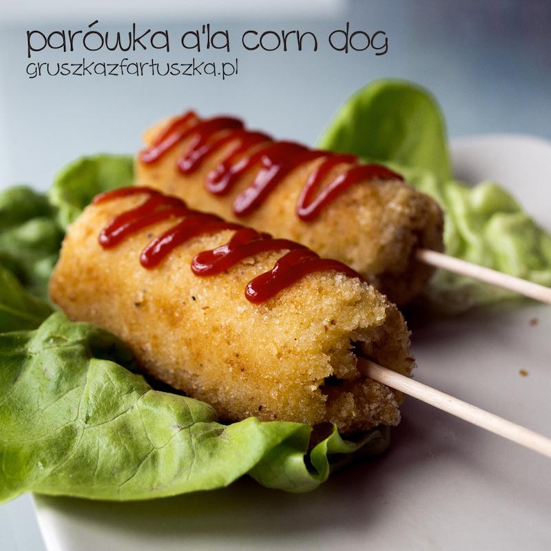 parówka a'la corn dog