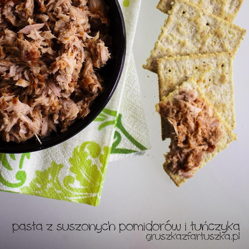 pasta z suszonych pomidorów i tuńczyka