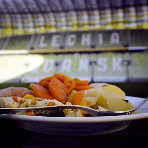 obiad na pge arena