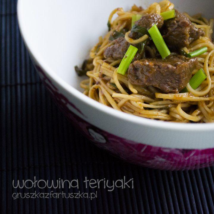wołowina teriyaki