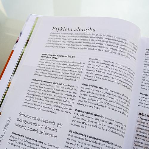 książka kucharska dla alergików
