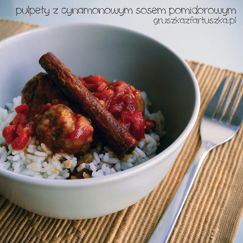 pulpety z cynamonowym sosem pomidorowym