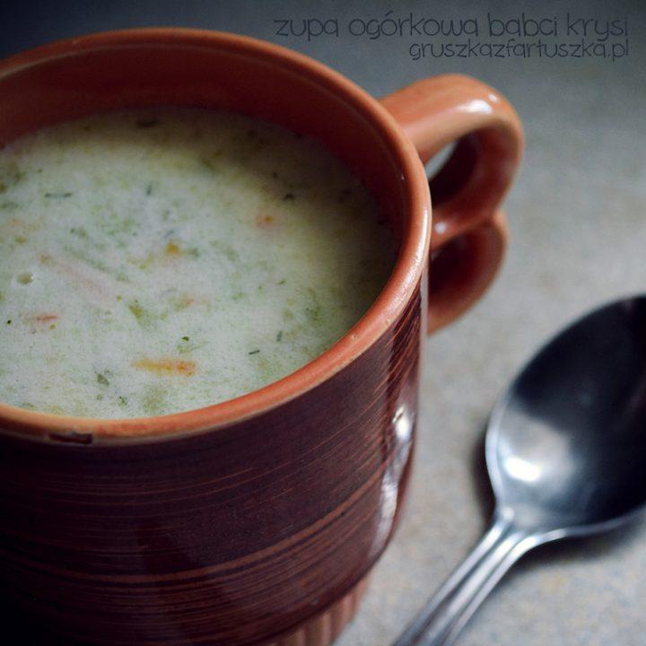 zupa ogórkowa Babci Krysi