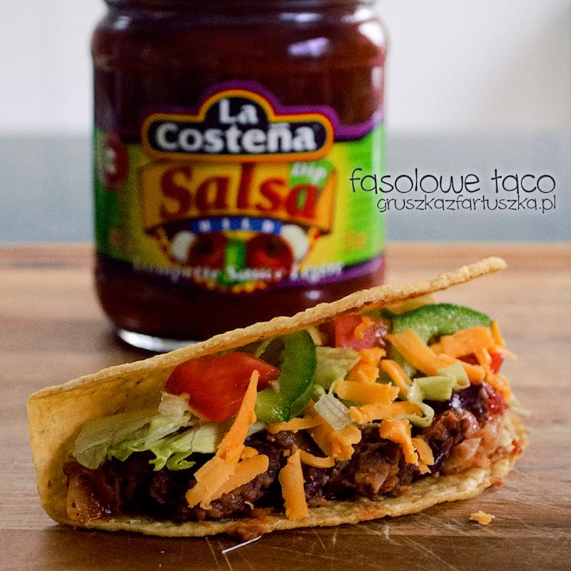 fasolowe taco