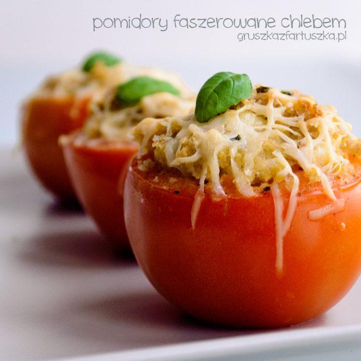 pomidory faszerowane chlebem