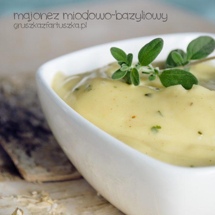 majonez miodowo-bazyliowy