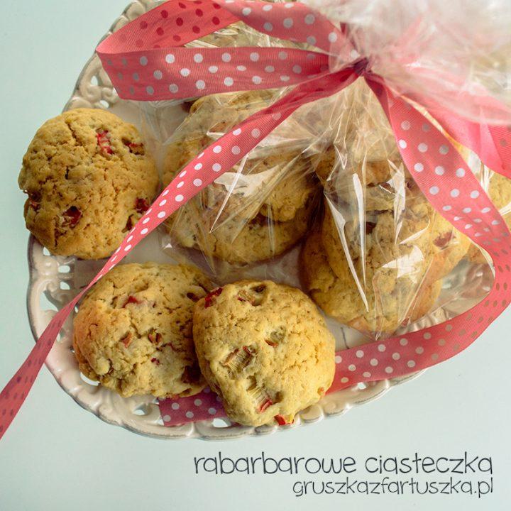 rabarbarowe ciasteczka