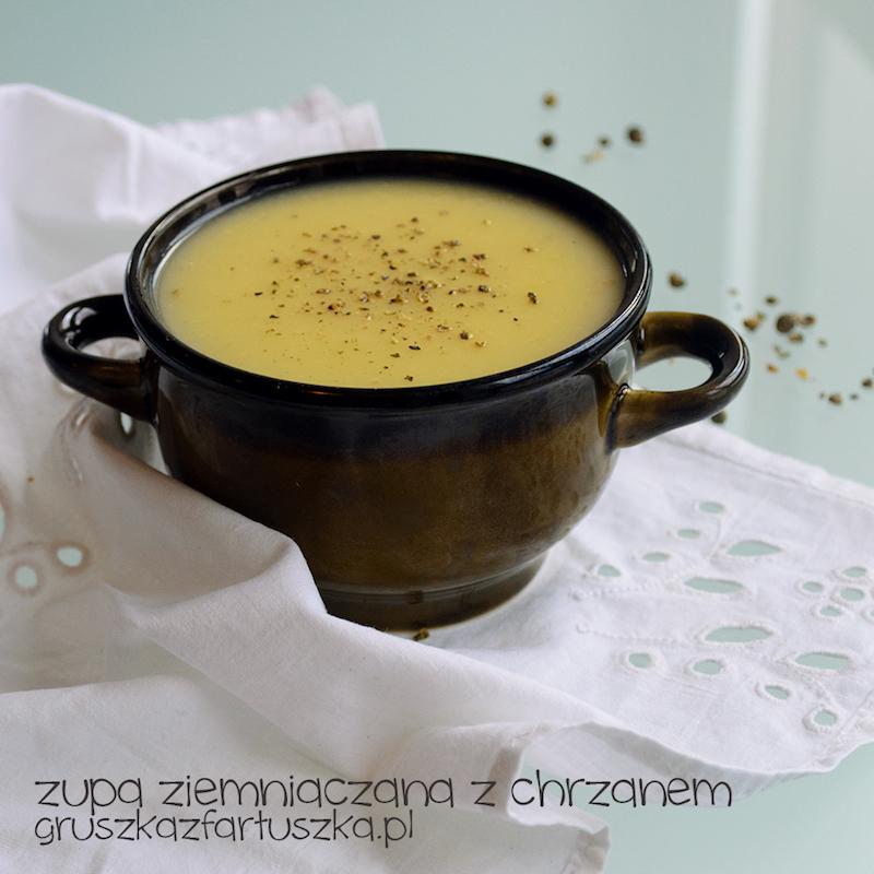zupa ziemniaczana z chrzanem