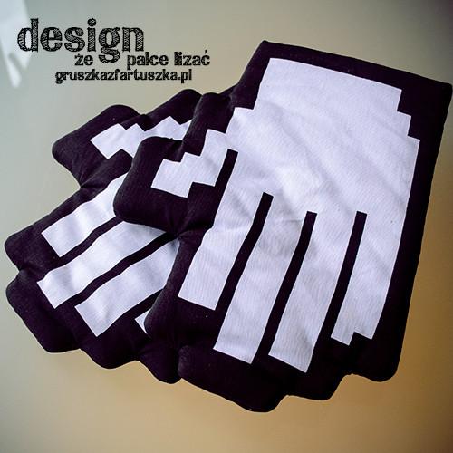 pixelowe rękawice kuchenne
