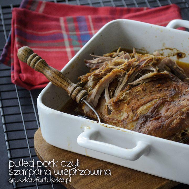 pulled pork czyli odrywana wieprzowina
