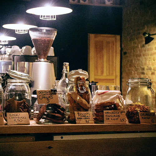 kawiarnia stragan poznań