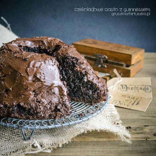 ciasto czekoladowe z guinnessem