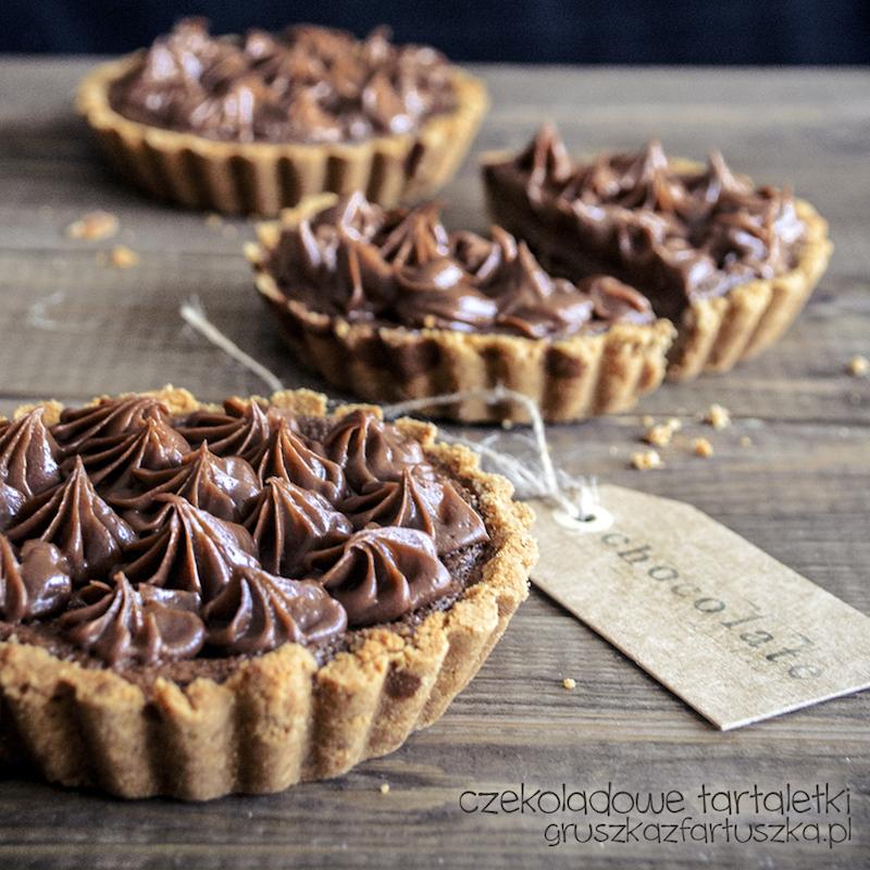 czekoladowe tartaletki