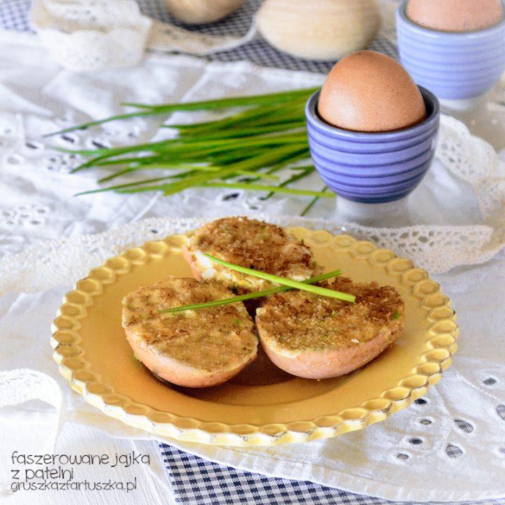 faszerowane jajka z patelni
