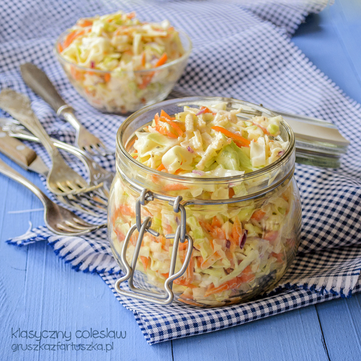 klasyczny coleslaw