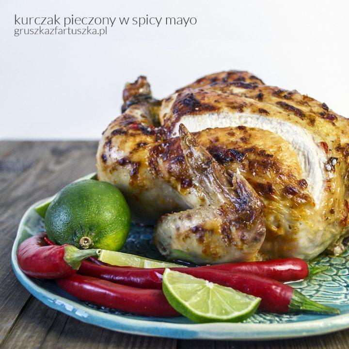 kurczak pieczony w spicy mayo