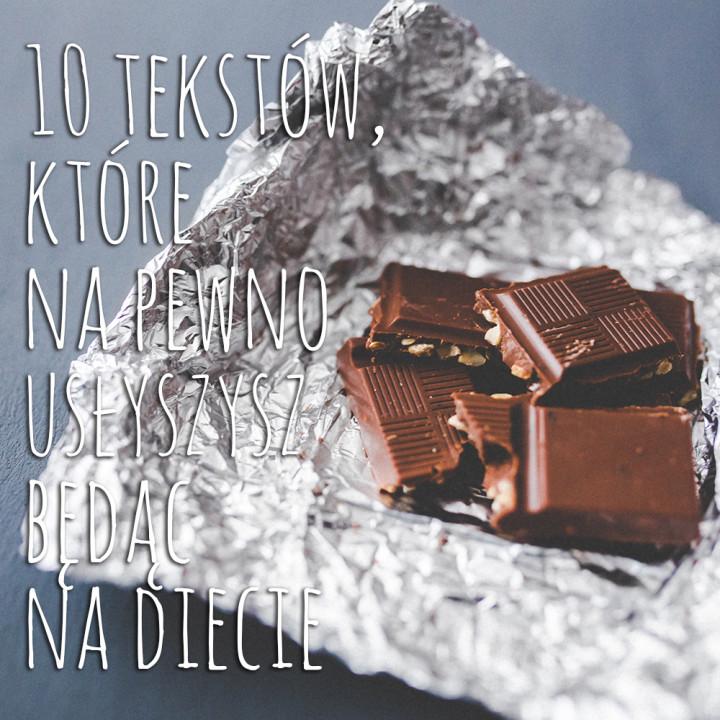 10 tekstów, które usłyszysz będąc na diecie... metamorfoza - tydzień 2