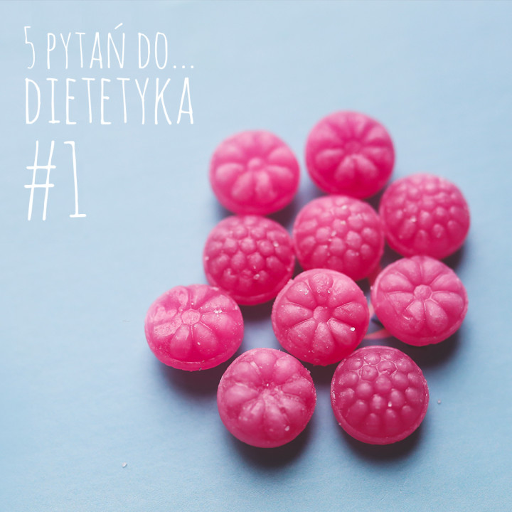 5 pytań do... dietetyka #1