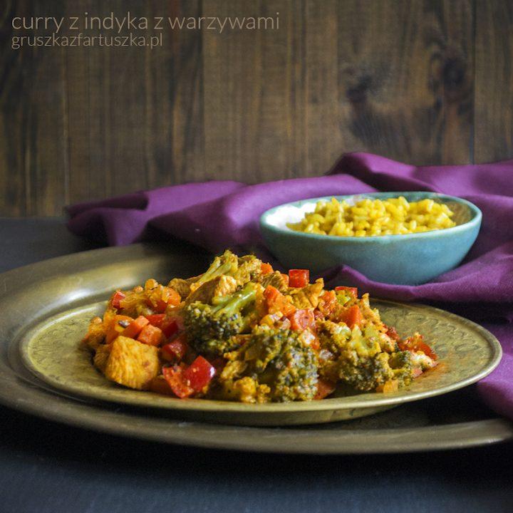 curry z indyka z warzywami