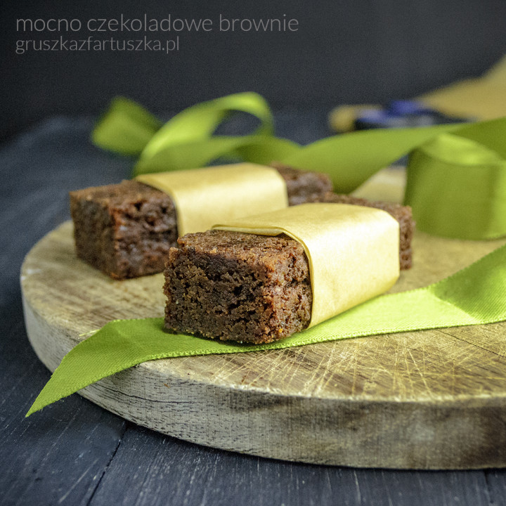 mocno czekoladowe brownie