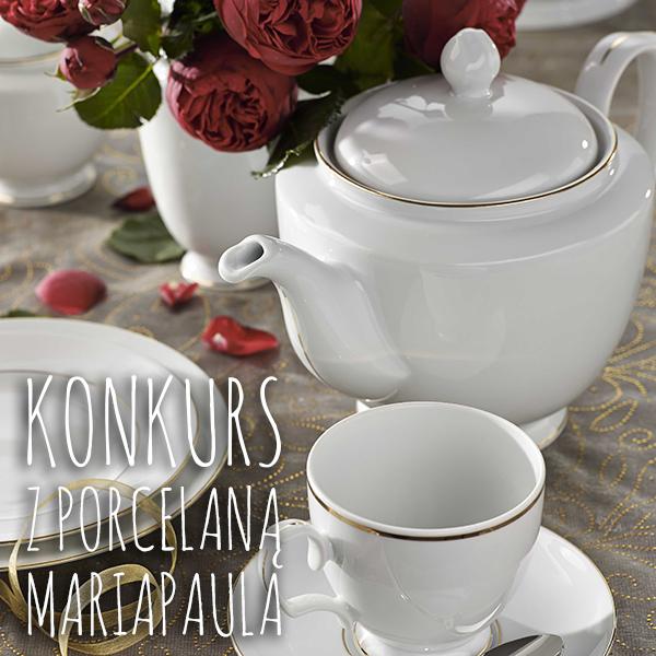 konkurs z porcelaną MariaPaula - wygraj zestaw kawowy za opis wymarzonej