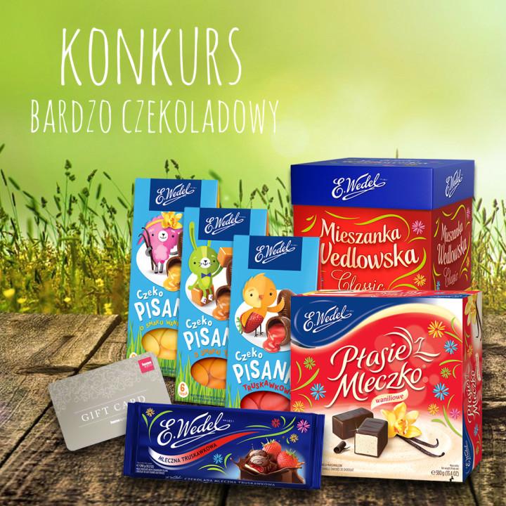 Bardzo czekoladowy konkurs z Wedlem