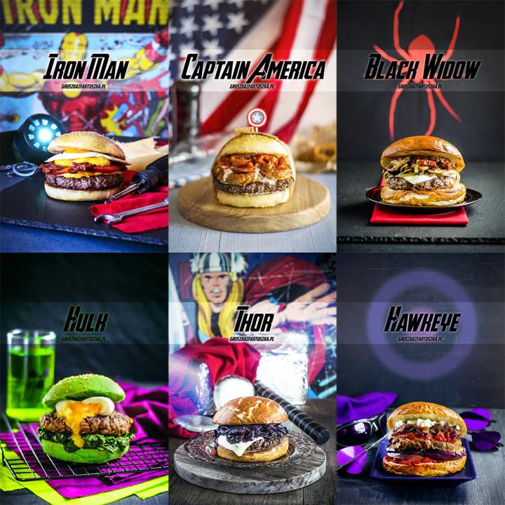 burgery avengers