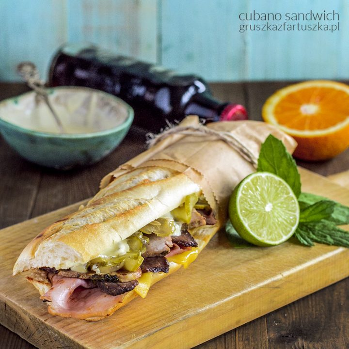 cubano sandwich czyli kanapka z grillowaną łopatką inspirowana filmem