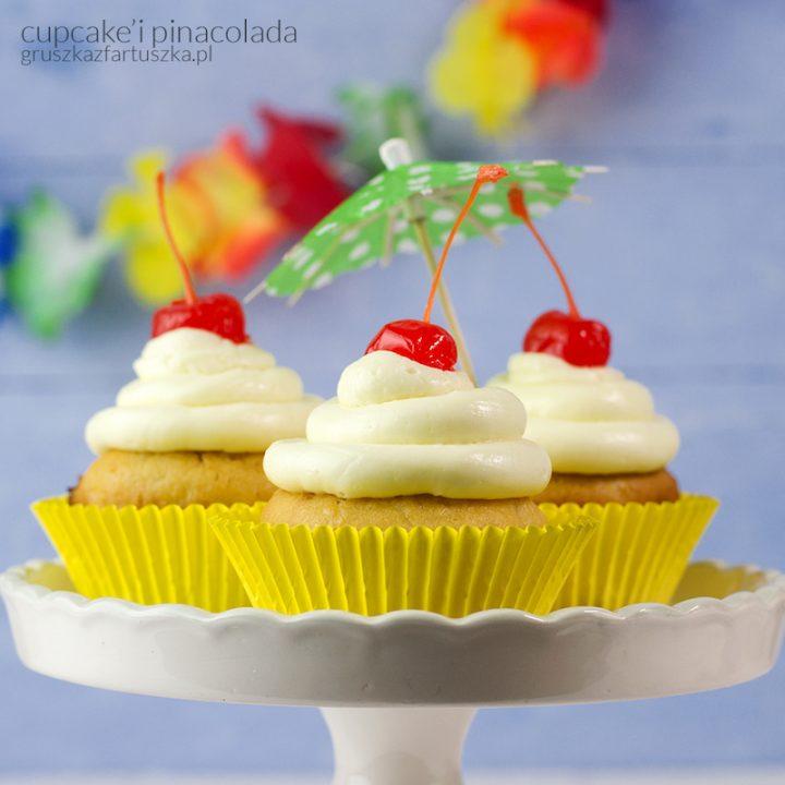 pożegnanie lata i cupcake'i pinacolada