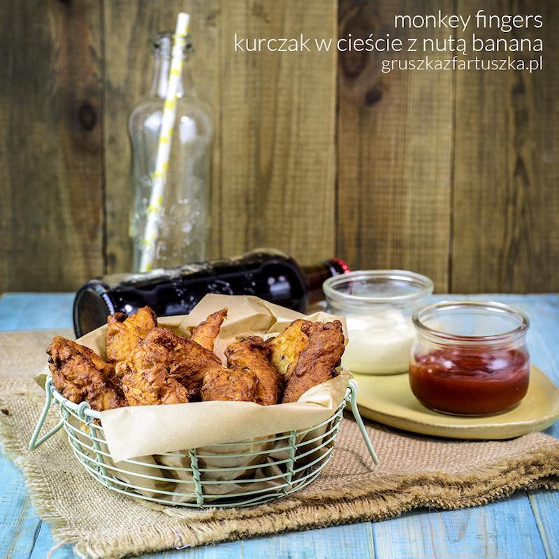 monkey fingers czyli kurczak z nutą banana