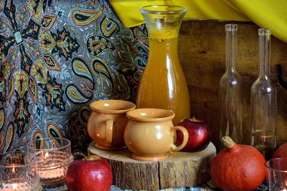 grzaniec jabłkowy