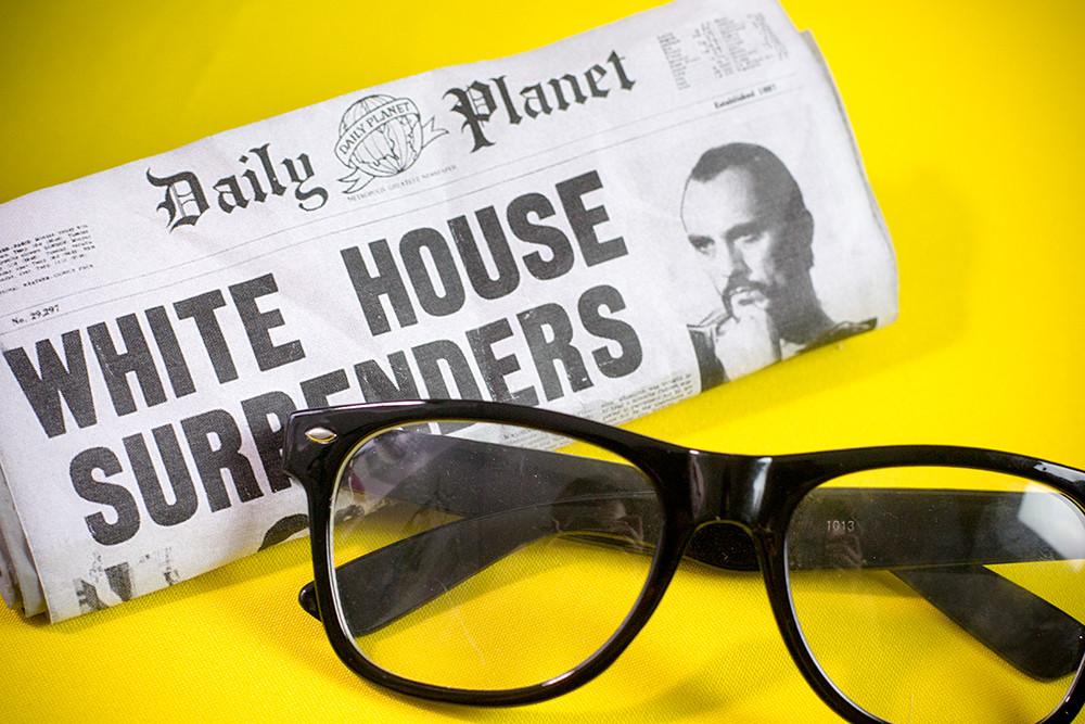 gazeta i okulary