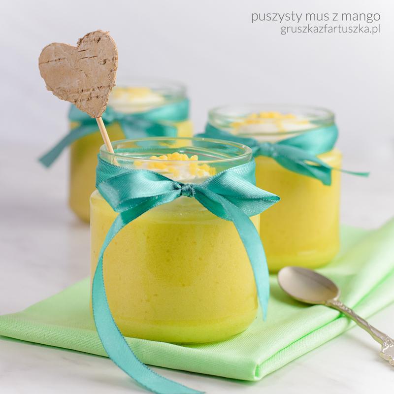 puszysty mus z mango