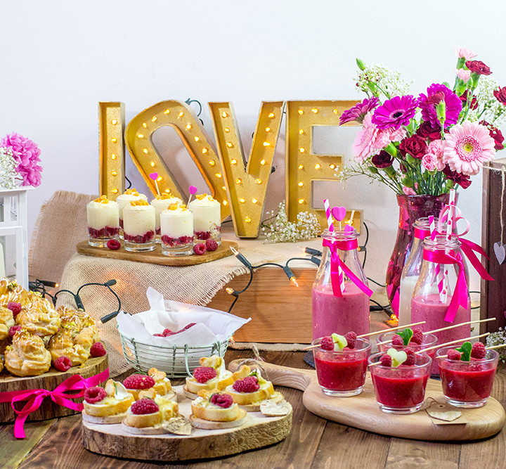 Malinowe Walentynki - #TescoParty #7