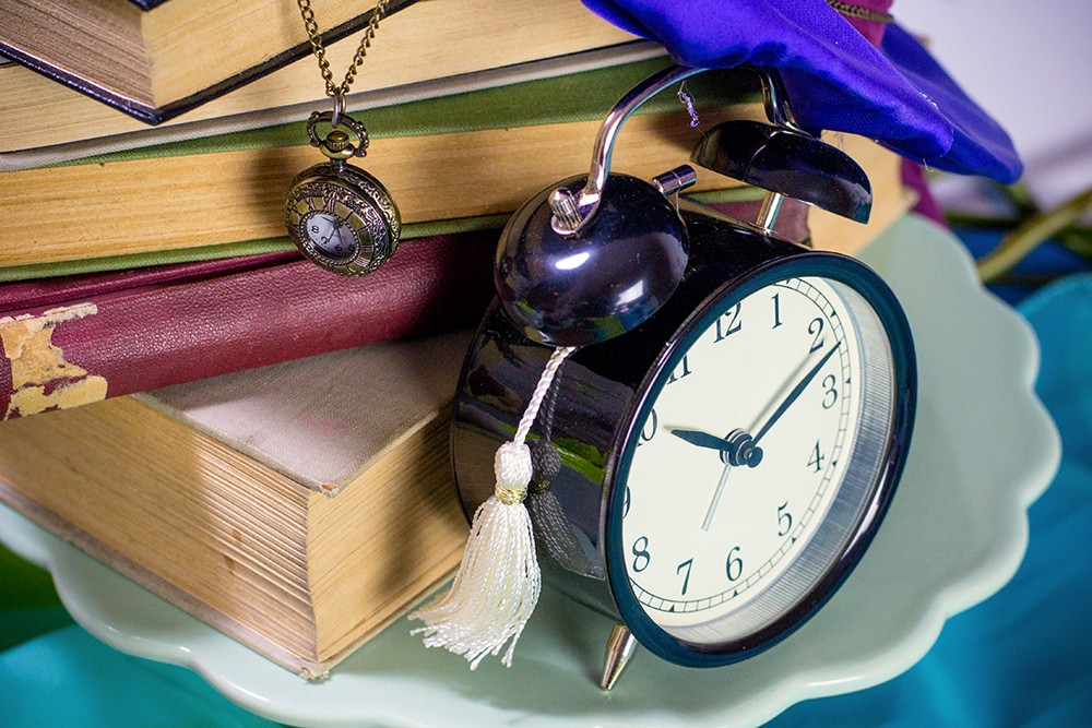 zegarki i książki