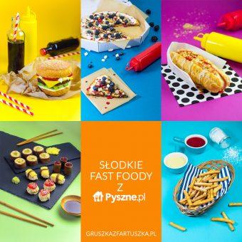 Słodkie Fast Foody i super konkurs dla blogerów z Pyszne.pl (do wygrania Kichen Aid!)