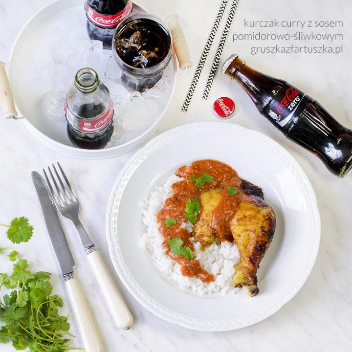 kurczak curry z sosem pomidorowo-śliwkowym