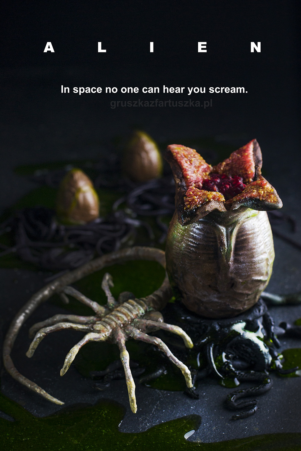 alien movie halloween recipe egg