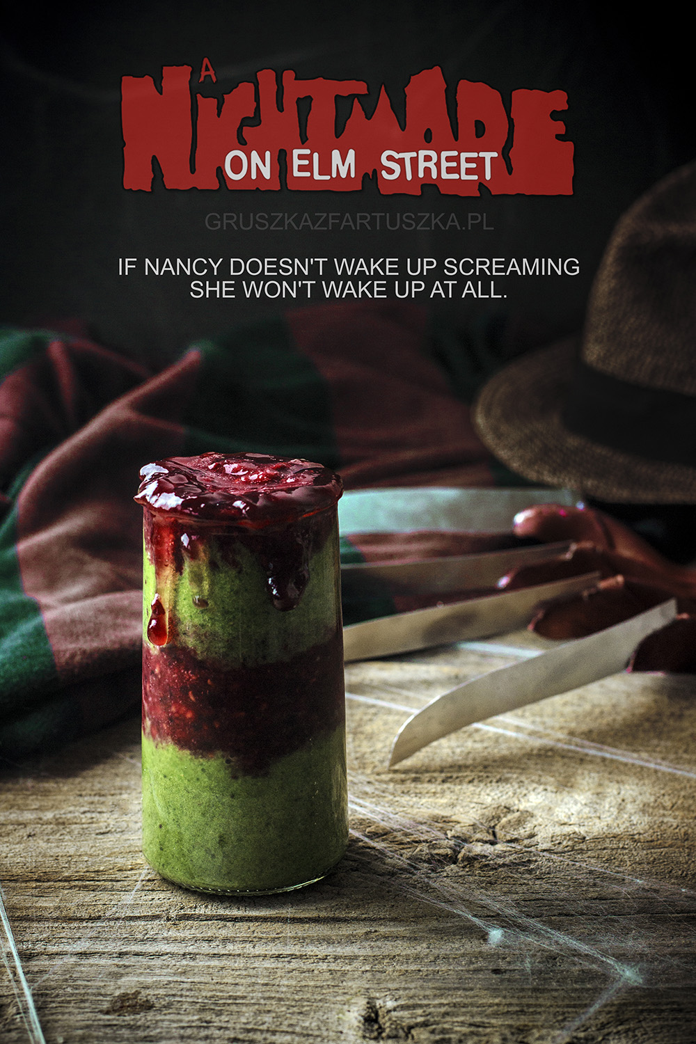 nightmare on elm street halloween smoothie