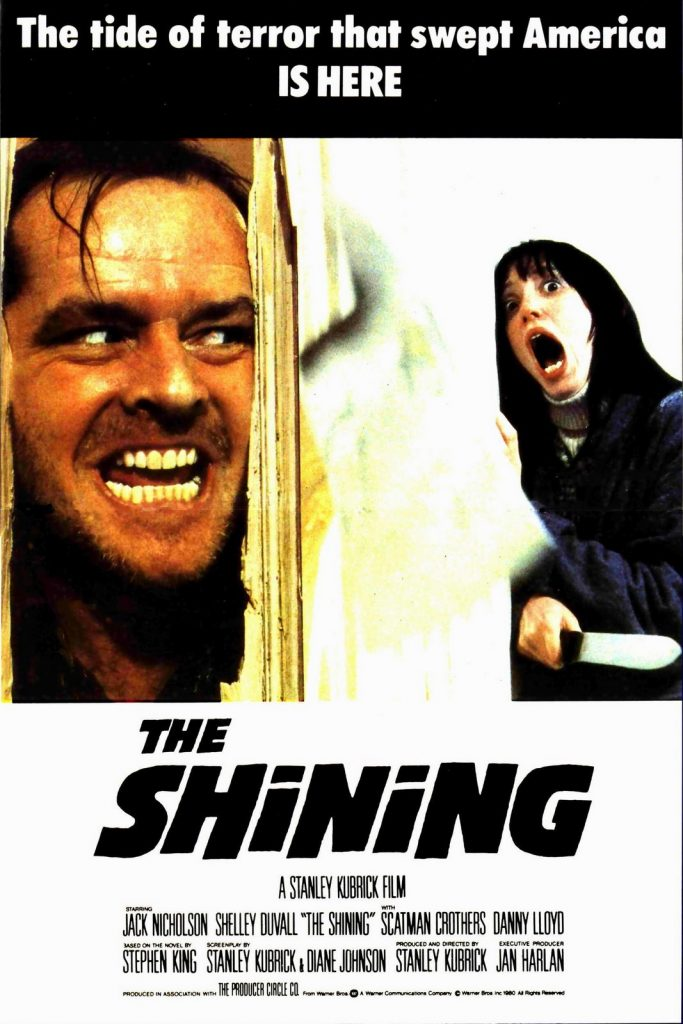 shining poster movie