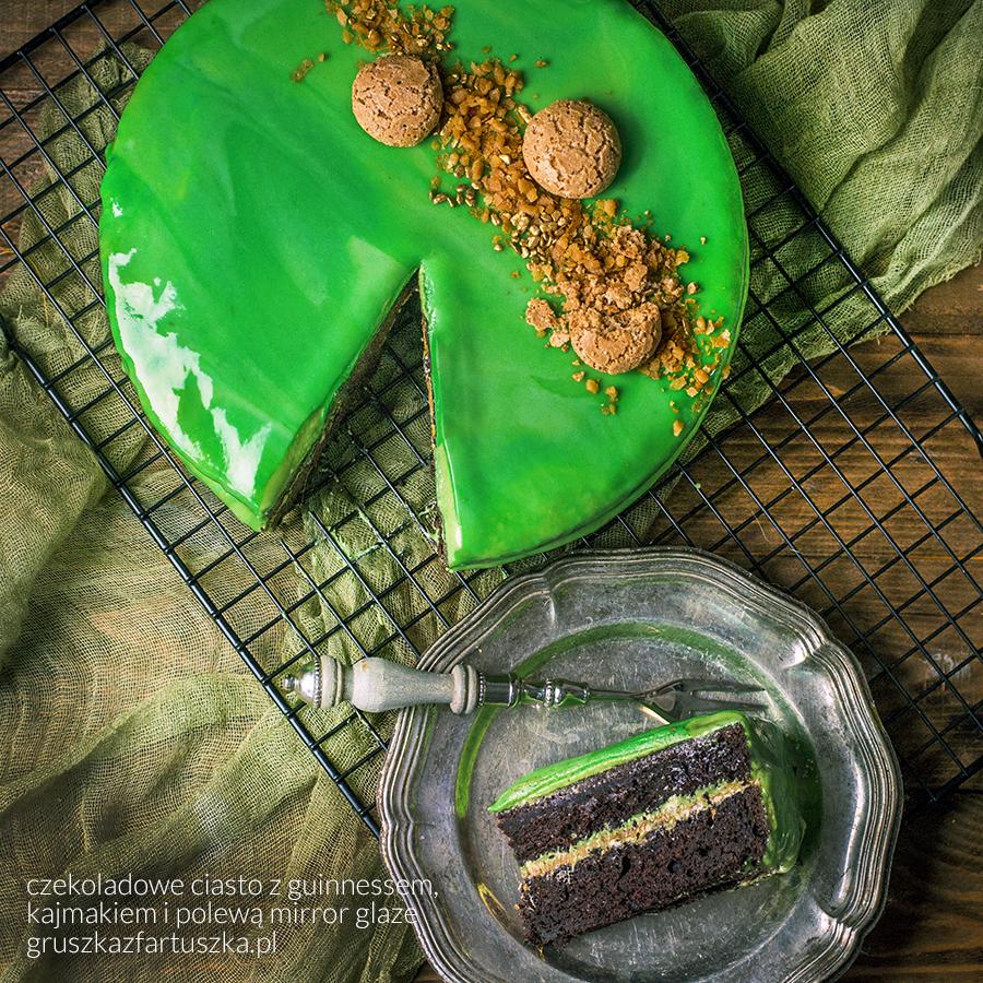czekoladowe ciasto z guinessem