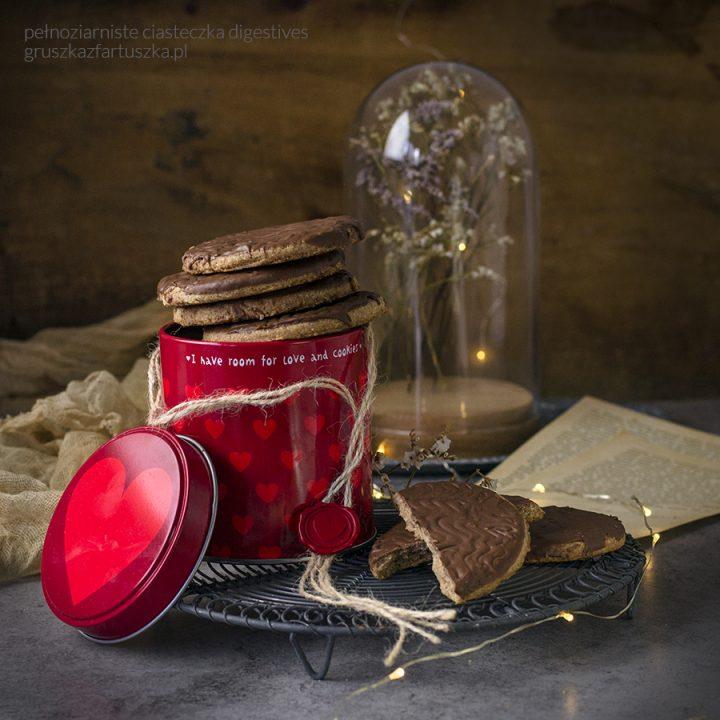 pełnoziarniste ciasteczka digestives